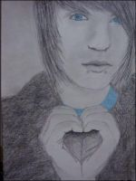 my 2nd drawing of alex evans by xxcharlotteoxx