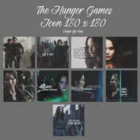 The Hunger Games Icon pack 180 x 180 by leebo-zing-ddh