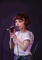 Lauren Mayberry by Twinklysmile