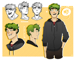 HUMAN//Vincent by SourBein