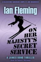 'On Her Majesty's Secret Service' audio book cover by PaulBaack