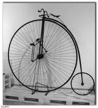 Penny Farthing by Sgnappy