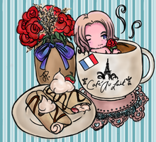 Hetalia Cafe:France by iCanadianBacon