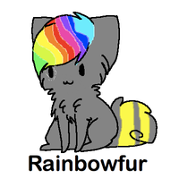 Rainbowfur Cat Breedable by WarriorCatLuver123