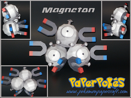 Magneton Papercraft by Skeleman
