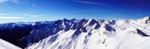 Tirol mountain panorama by aajohan
