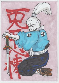 Miyamoto Usagi by conradknightsocks