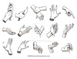 Hands Reference 3 by Kibbitzer