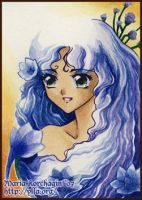 ACEO 11 : Larkspur by Maria-Ylla