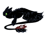 Toothless by Fosbat