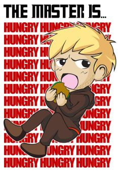 The Master is Hungry_Doctor Who by bluepen731