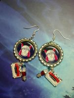Blaster Earrings by Laserbot
