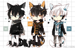[SETPRICE*CLOSED]Lineheart*41 by Relxion-kun