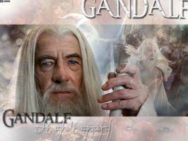 Gandalf Wallpaper by smalls89