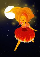 flame princess by carumbell