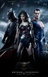 Batman v Superman Dawn of Justice - Trinity Poster by LamboMan7