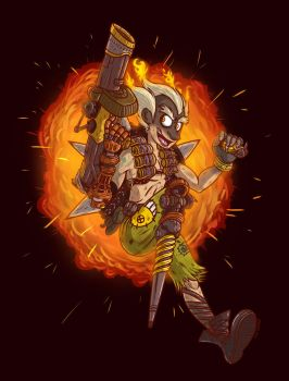 Junkrat by Duckboy