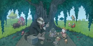 Weirding Willows Picnic by DeevElliott