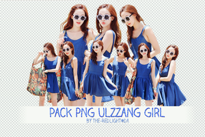 Pack PNG Ulzzang girl by The-Redlight by The-RedLight
