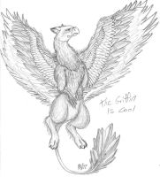 Griffin by singing-hallelujah