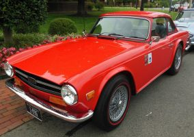1970 Triumph TR6 in Richmond by rlkitterman