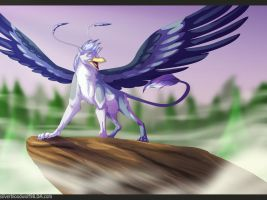 my freedom + speedpaint(link added) by Silverbloodwolf98