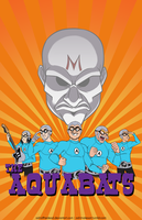 Otakon 2012 Print: The Aquabats by AdriOfTheDead