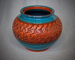 Terracotta Vessel by KaiCeramics
