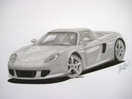 Porsche Carrera GT by RDDesign99
