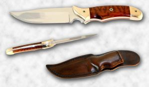 Fixed Blade Knife by Azmal