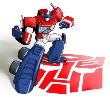 Toony Optimus by EJ-Su