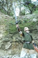 Link Raise the Sword by Anduriill