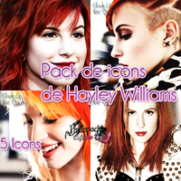 Pack de Icons de Hayley Williams by PhotopacksLiftMeUp