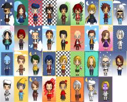 Crew of the Argentum and Faithful by 2sisters34