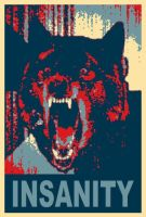 Insanity Wolf 2012 by SinderBaleson