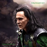 Loki - The Dark World XVII Version II by AdmiralDeMoy
