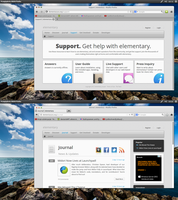 Elementaryish Firefox Themes by Dolsilwa