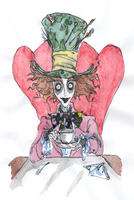 The  Hatter by DemonCartoonist