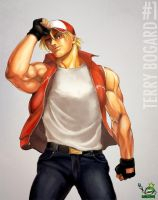 Terry Bogard by AmandaDuarte