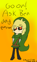 Ask Ben Drowned! by TheBlazingArtist