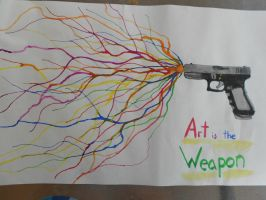 Art Is The Weapon by Devtan-Army