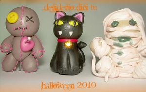 Fimo halloween time by DesiderioDiciTu