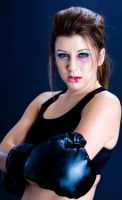 Briana as a boxer by JJImages