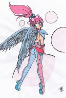 Space Angel Colored by Maiko-Girl