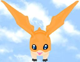 Digimon: Patamon by TigerWithWings