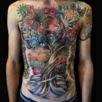 Tree of Life by allentattoo
