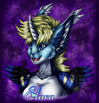 Elara - Colored Sketch Commission by kcravenyote