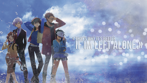 Wallpaper - Hamatora: That's why it's better... by Kirbytch