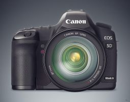 Canon 5D Mark II by lazymozzy