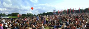 Panorama NERD at Lowlands 2008 by Leconte